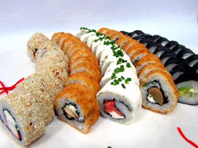 60 piezas de sushi en Sushi Bubba Gump!!!, Ñuñoa