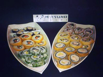 60 piezas de sushi en Mitsuko Sushi, La Reina