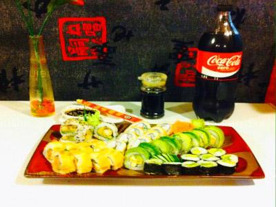 50 piezas de sushi en Maldito Sushi Centenario, Las Condes