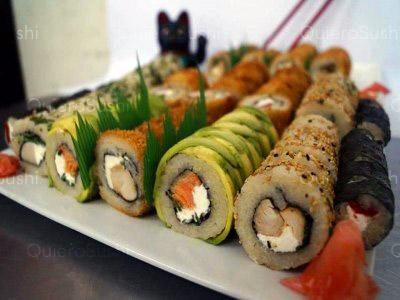 90 piezas de sushi en Taimu Sushi, Maipú