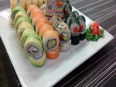 56 piezas de sushi en Neo Sushi, Ñuñoa