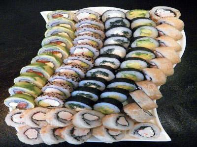60 piezas de sushi en SushiMixx, Maipu