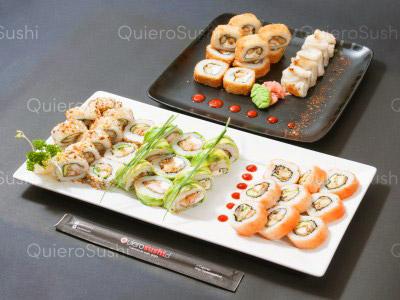 55 piezas de sushi en Eco Sushi, Las Condes
