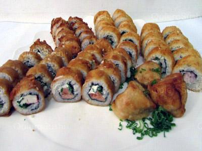 53 piezas de sushi en Sushi Bubba Gump, Ñuñoa