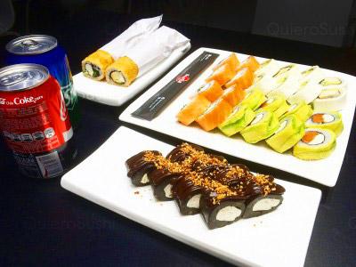 60 piezas de sushi en Hand Roll, Providencia
