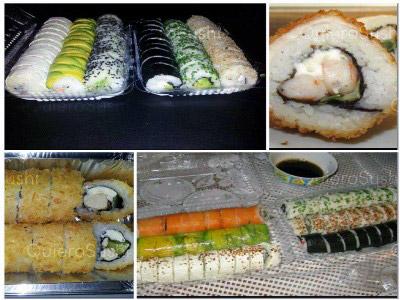 100 piezas de sushi en Daiko Sushi, La Florida