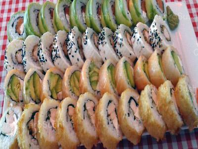 40 piezas de sushi en El Trujillano Sushi, Santiago Centro
