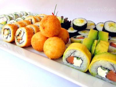 44 piezas de sushi en Sushi Bubba Gump!!!, Ñuñoa