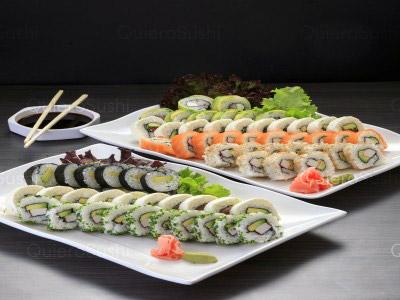40 piezas de sushi en Yamato Sushi, Santiago Centro