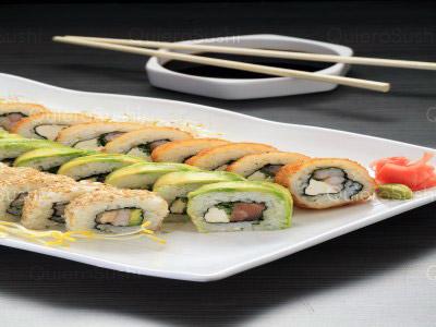 30 piezas de sushi en Yamato Sushi Maipu, Maipu
