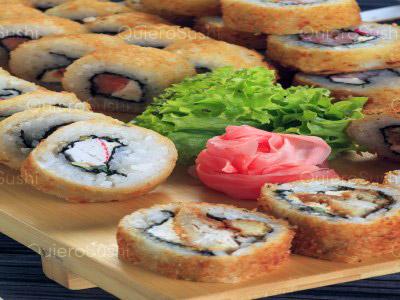 40 piezas de sushi en Rock The Food, Ñuñoa