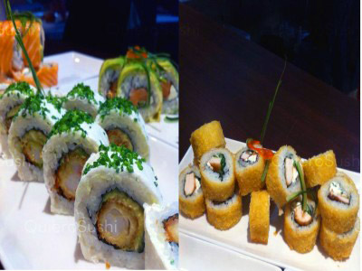 40 piezas de sushi en Sushi Kyasarin, Maipu