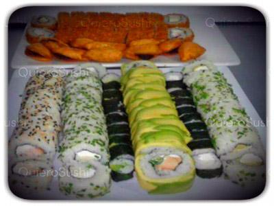 90 piezas de sushi en Taimu Sushi, Maipu