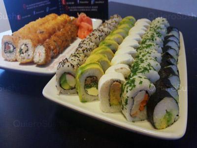 80 piezas de sushi en Sushi Khai, La Reina