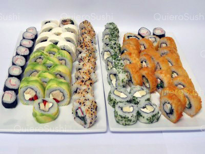 70 piezas de sushi en Nori, Ñuñoa