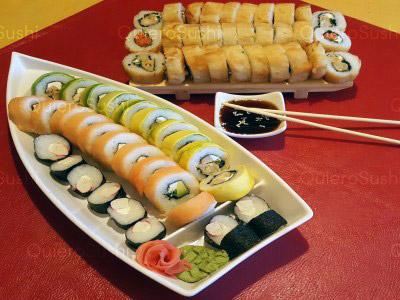 60 piezas de sushi en Maldito Sushi THAI, Las Condes