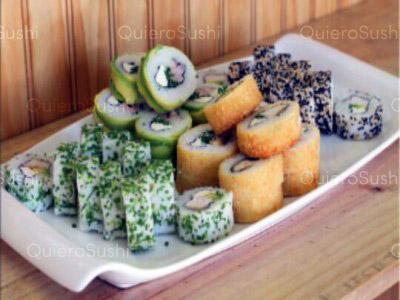 70 piezas de sushi en Isso Sushi, Las Condes