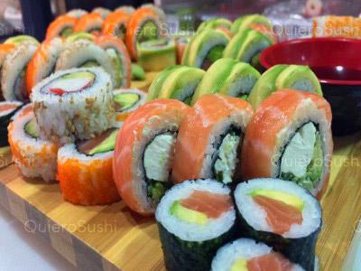50 piezas de sushi en Sushi Cot´s, Santiago Centro