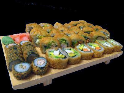 40 piezas de sushi en Sempai Sushi, Peñalolen