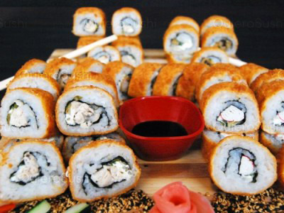 50 piezas de sushi en Sushi All Star, Pedro Aguirre Cerda