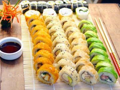 60 piezas de sushi en sushi el gato, Las Condes