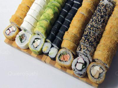 80 piezas de sushi en Nori Sushi, Ñuñoa
