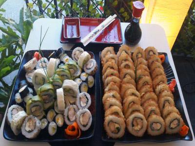 90 piezas de sushi en Sushi Hai Maipu, Maipu