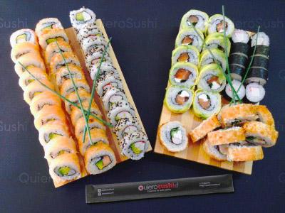 60 piezas de sushi en Nori Sushi, Providencia