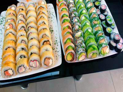 100 piezas de sushi en My Sushi Nikkei, Peñalolen