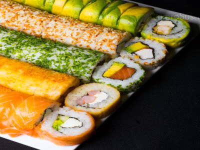 66 piezas de sushi en SushiKio, Santiago Centro