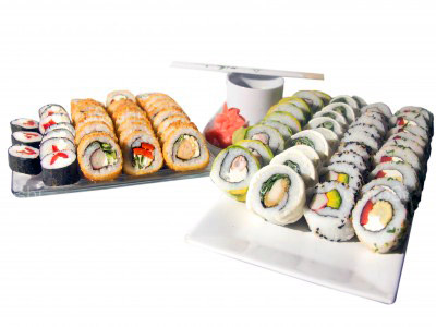 85 piezas de sushi en Milo Sushi, Santiago Centro