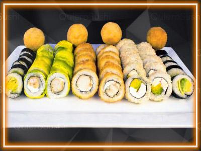 48 piezas de sushi en ABIERTO! Sushi Big Bang! , Ñuñoa