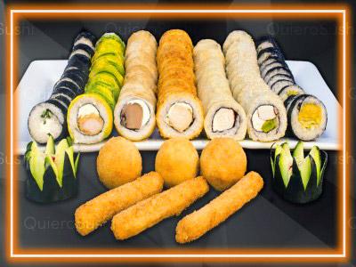 83 piezas de sushi en Sushi Big Bang! Ex Bubba, Ñuñoa