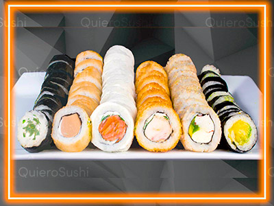 66 piezas de sushi en Sushi Big Bang! Ex Bubba, Ñuñoa