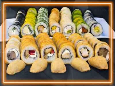 115 piezas de sushi en Sushi Big Bang! Ex Bubba, Ñuñoa