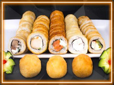 58 piezas de sushi en Sushi Big Bang! Ex Bubba, Ñuñoa