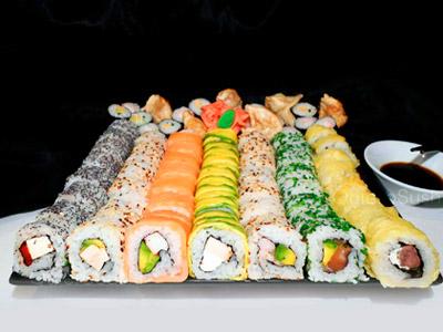 72 piezas de sushi en INSIDE / ABIERTO, Ñuñoa