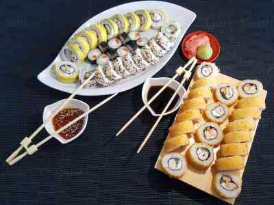 50 piezas de sushi en Giro Sushi, Santiago Centro