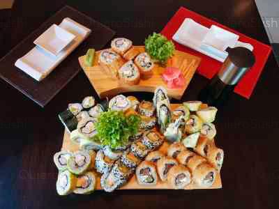 66 piezas de sushi en Sushi Ya, Macul