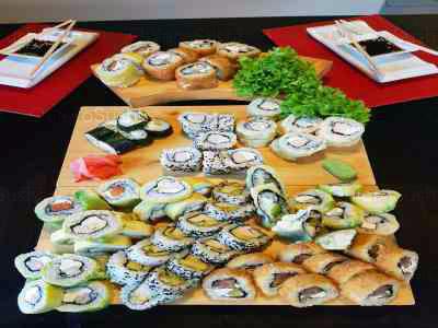 86 piezas de sushi en Sushi Ya, Macul