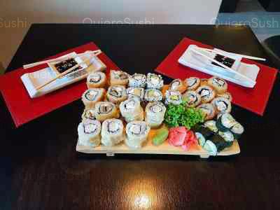48 piezas de sushi en Sushi Ya, Macul