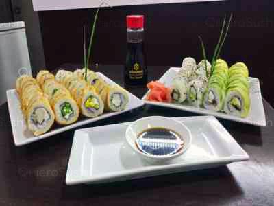80 piezas de sushi en Sushi Game, La Florida