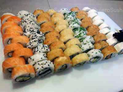 70 piezas de sushi en SUSHI ROLLS LIAM, Ñuñoa