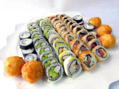 60 piezas de sushi en Sushi Big Bang! Ex Bubba, Ñuñoa