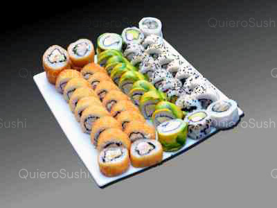 50 piezas de sushi en Mary´s Sushi Rolls Nuñoa, Ñuñoa