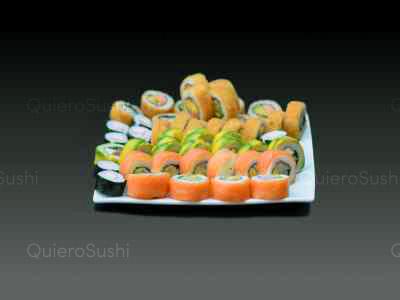 60 piezas de sushi en Mary's Sushi Rolls, La Florida
