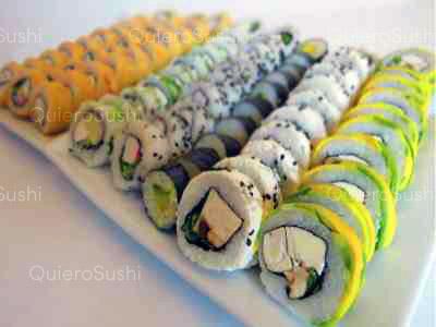 80 piezas de sushi en Mia Sushi, Santiago Centro
