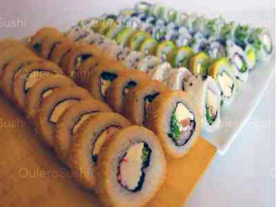 70 piezas de sushi en Mia Sushi, Santiago Centro