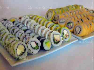 100 piezas de sushi en Mia Sushi, Santiago Centro