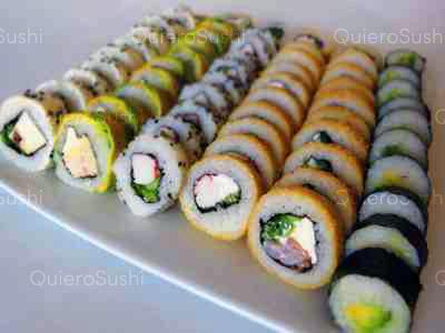 60 piezas de sushi en Mia Sushi, Santiago Centro